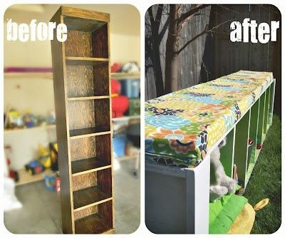 Transforming an Old Shelf Into A Beautiful Bench
