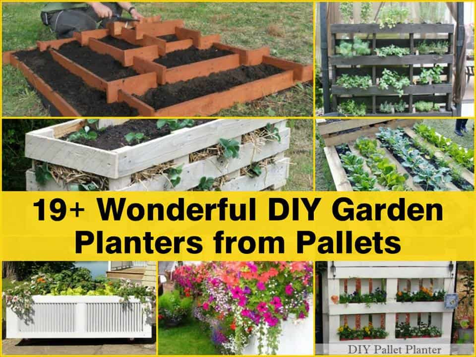 Wonderful DIY Pallet Garden Planter Ideas DIY Cozy Home