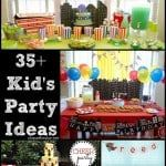 35 Party Ideas For Your Kiddos
