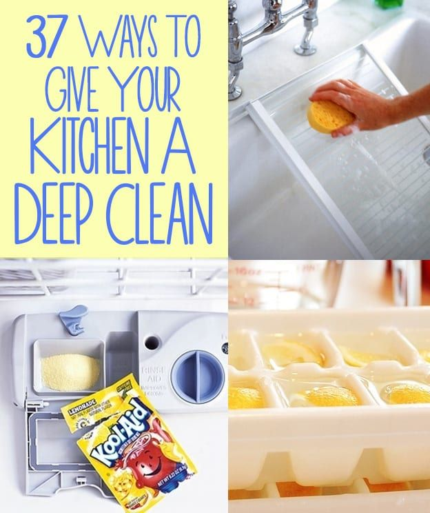 How To Clean A Kitchen how to deep clean the kitchen (my favorite hacks) | diy cozy home