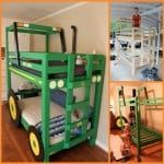DIY Tractor Bunk Bed