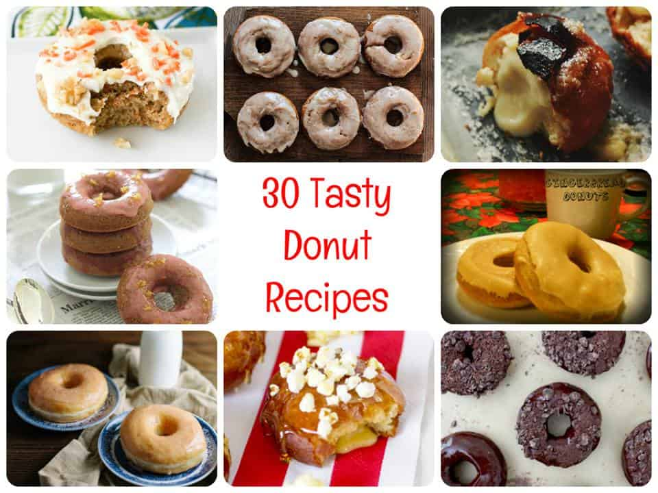 30 Devilishly Delicious Donut recipes