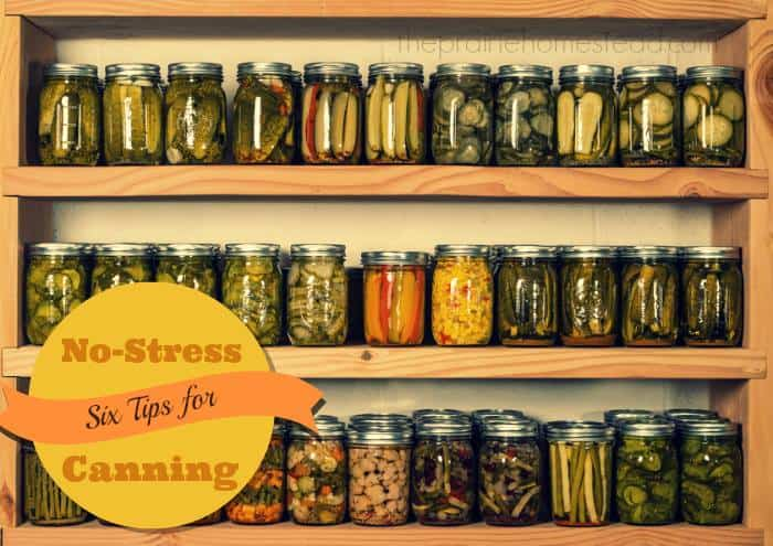 No-Stress Canning Tips