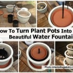 Potted Plant Water Fountain