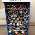 Creative Toy Car Storage