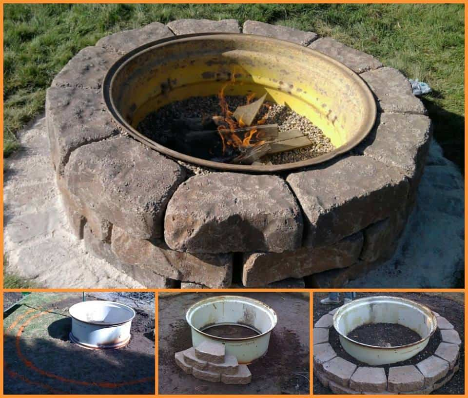 Tractor Tire Fire Pit