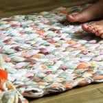Recycle Tutorial, Woven Rag Rug