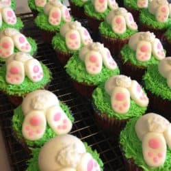 Fluff Bunny Tail Cupcakes