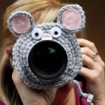 Crocheted Camera Lens Buddies