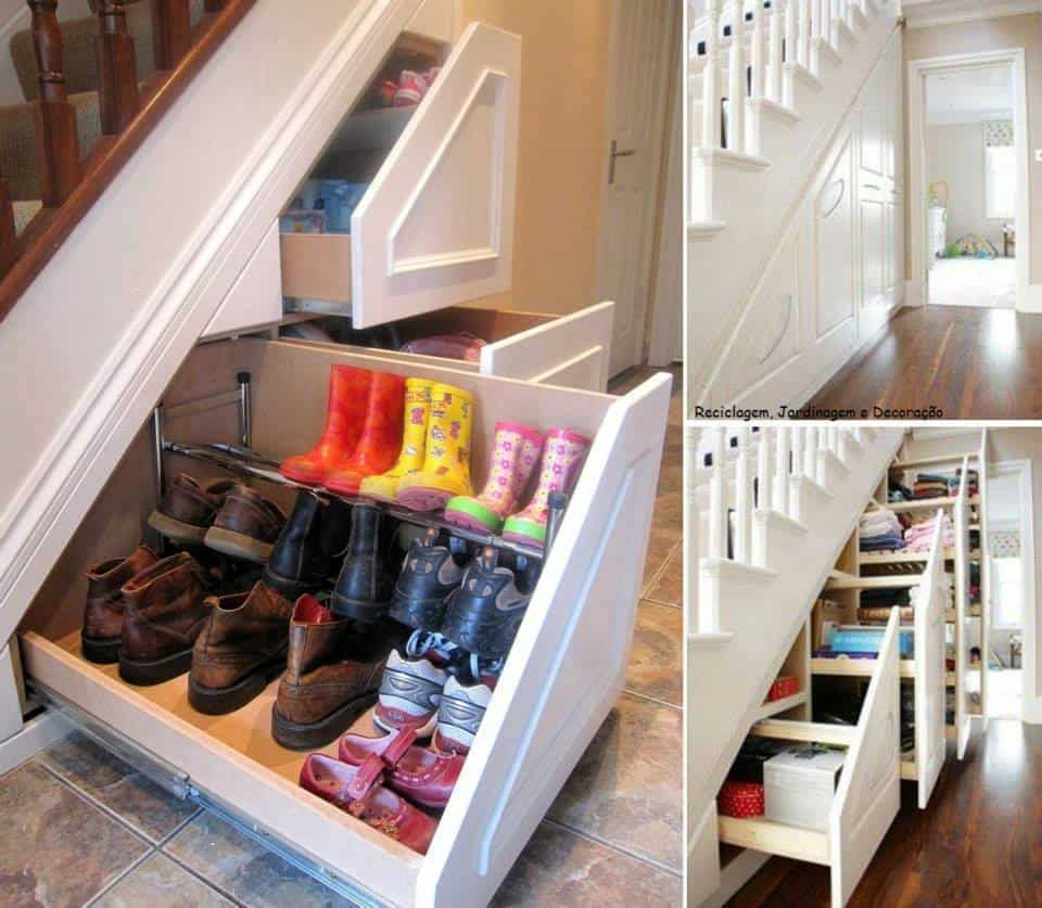 25 Creative Shoe Storage Ideas