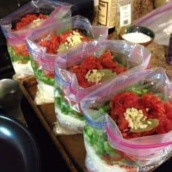 Making 50 Freezer Meals In One Day