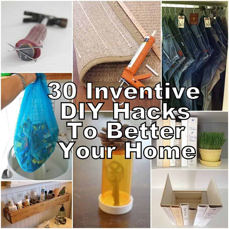 30 innovative DIY Hacks To Better Your Home