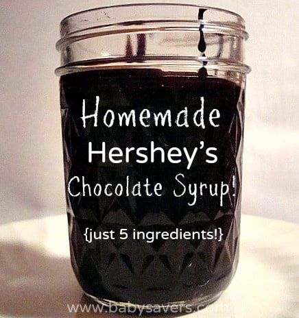 Copycat Hershey's Chocolate Syrup