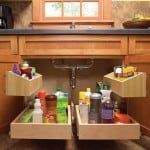DIY Kitchen Sink Storage