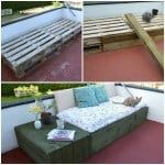 Patio Pallet Day Bed