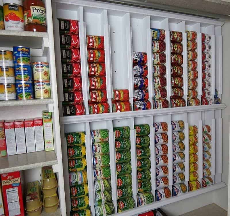 DIY Canned Food Dispenser For The Pantry | DIY Cozy Home