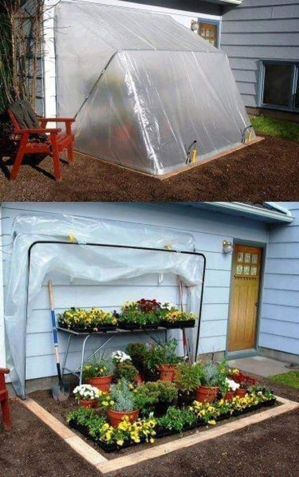 Protection From The Weather-Convertible Greenhouse