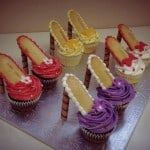 Walk In Style With High Heels Cupcakes