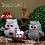 Sew Your Own Sock Owl