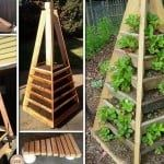 DIY Garden Pyramid Planter