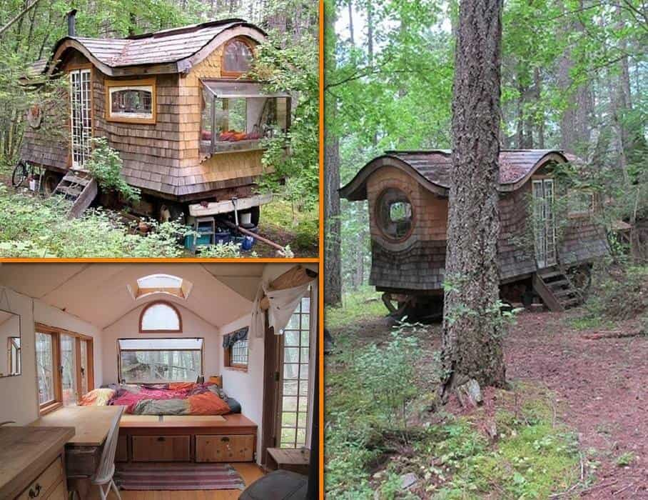 Quirky Gypsy Wagon Home Tour