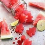Homemade Sour Watermelon Gummies
