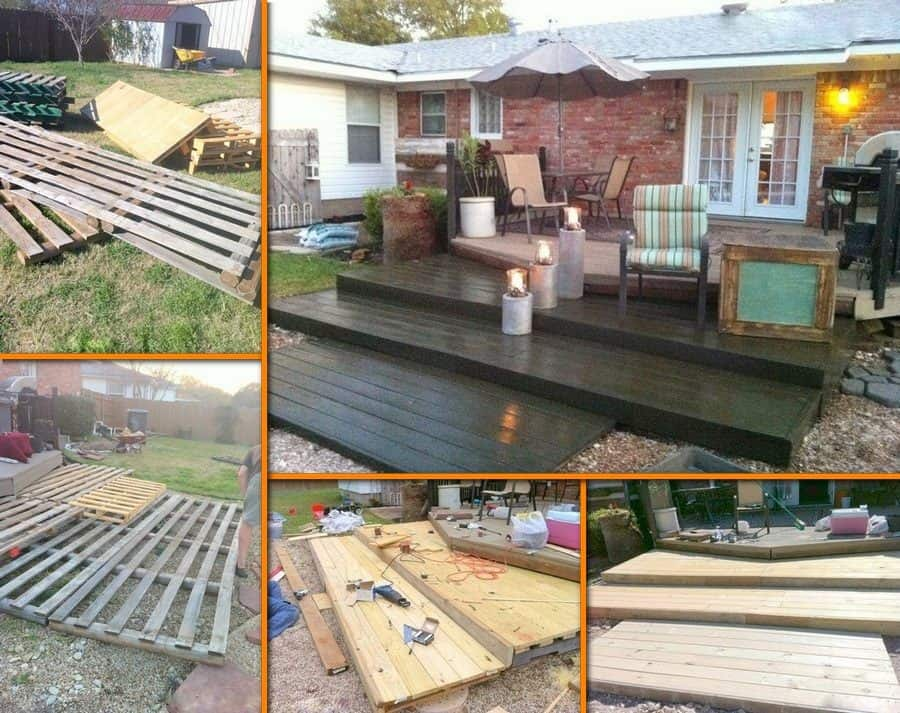 Perfect Pallet Deck For Under $300