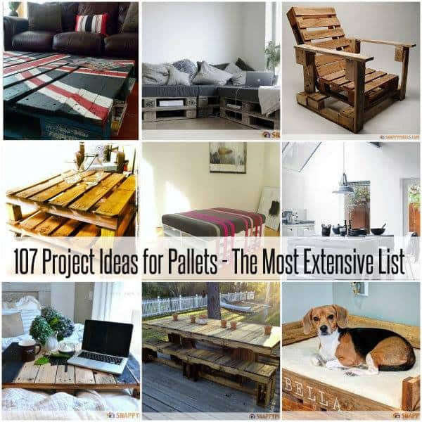 107 Pallet Projects And Ideas | DIY Cozy Home
