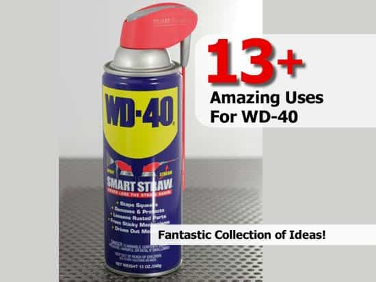 The Secret Uses of WD-40