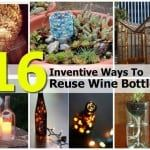 16 Ways To Repurpose Wine Bottles