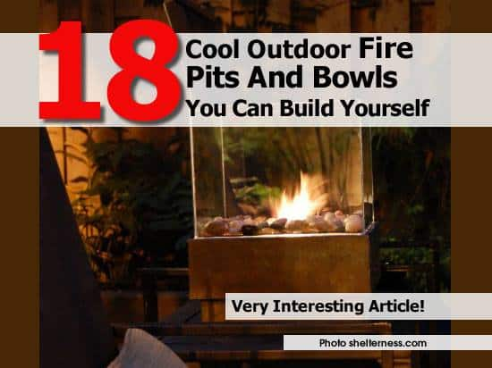 18 Fantastic DIY Fire Pits | DIY Cozy Home
