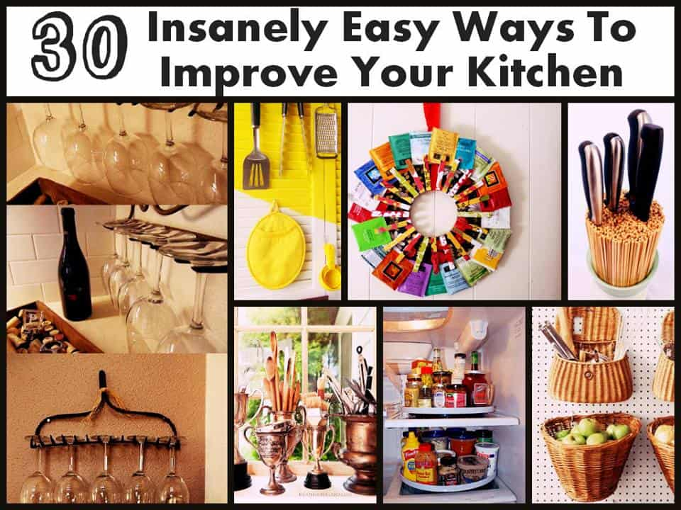 30 Simple Ways To Revamp Your Kitchen