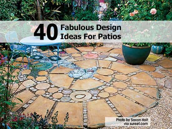 40 perfect Patio Ideas