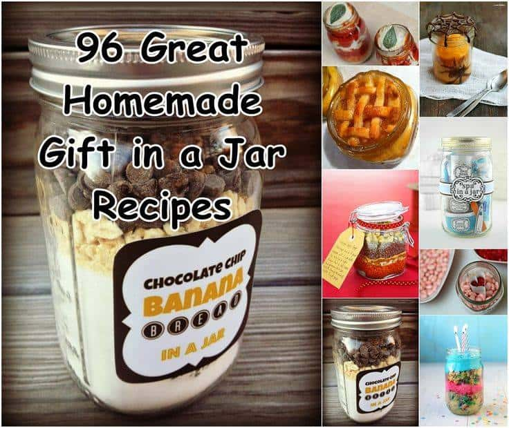 96 Terrific Gift-In-A-Jar Ideas