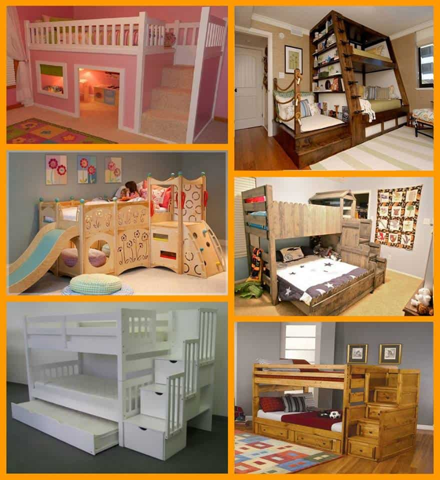 Fun And Whimsical Bunk Bed Ideas Photo Gallery
