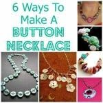 6 DIY Button Necklaces