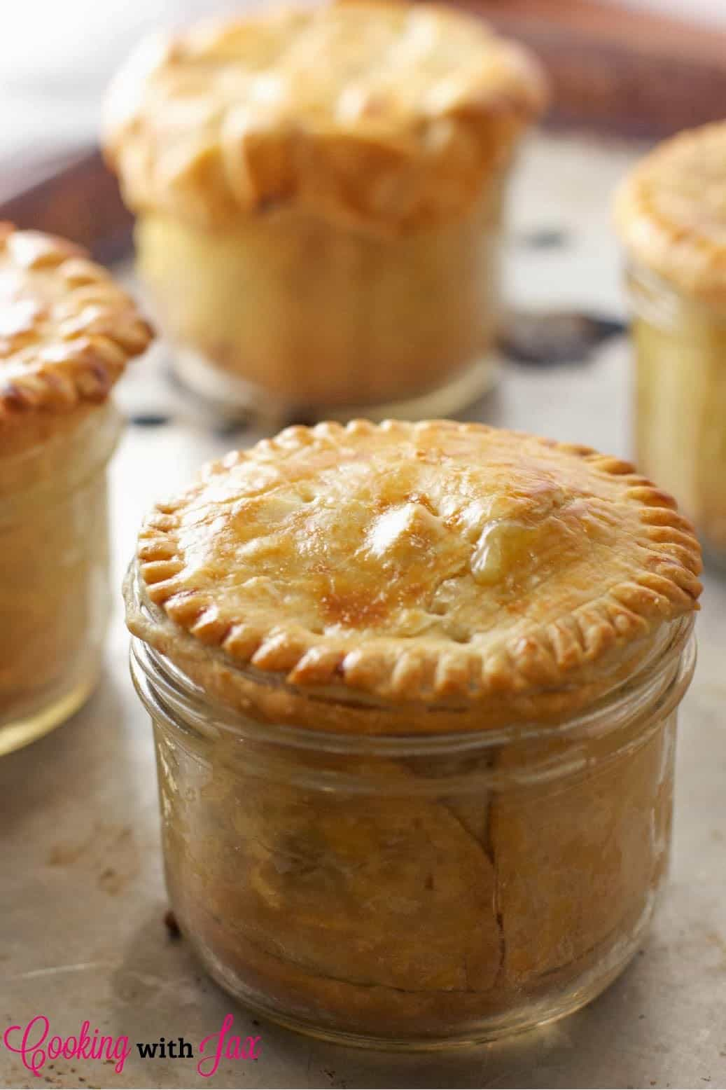 Mason Jar Pot Pies