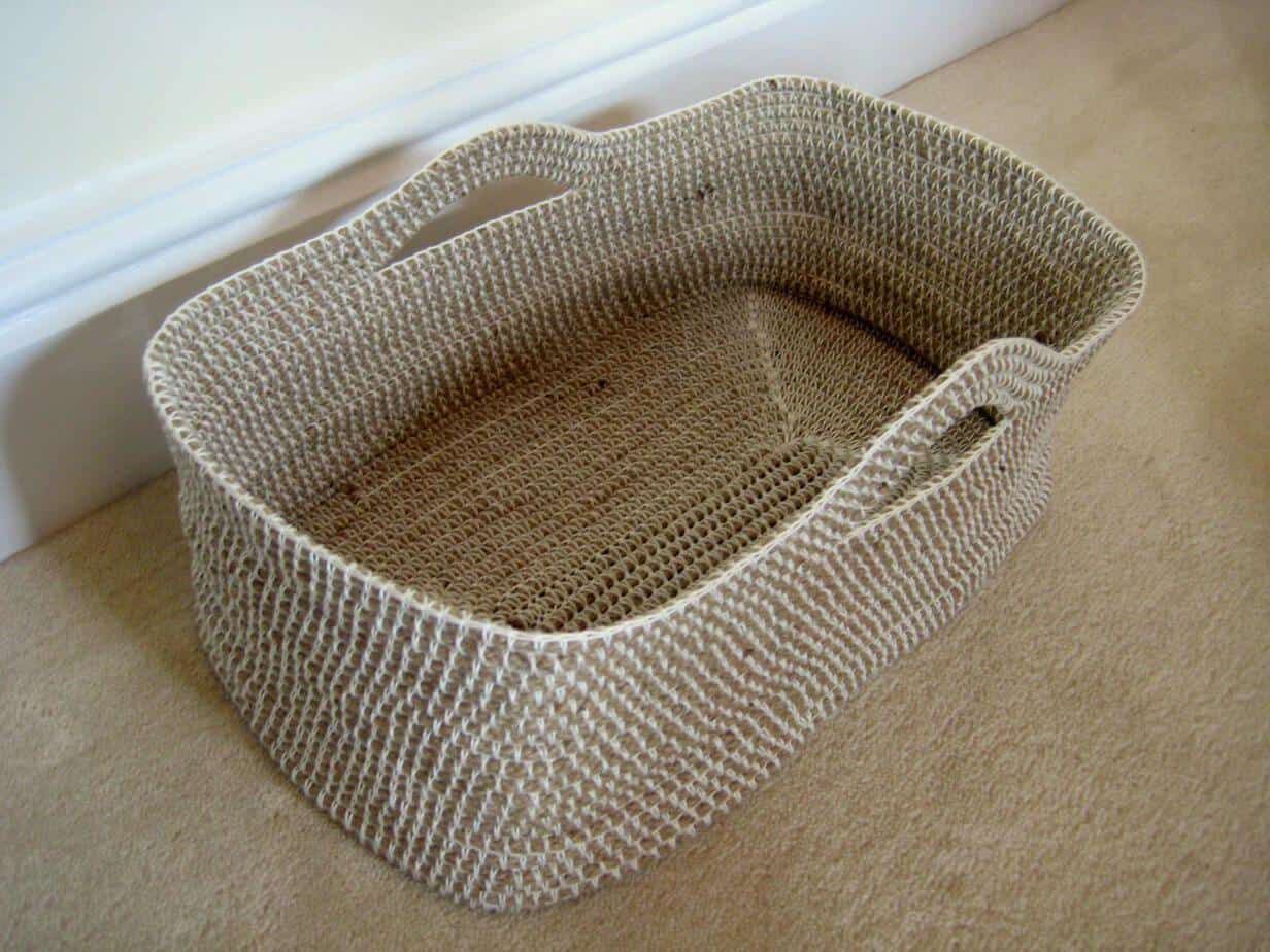 Cute Crochet Rope Basket