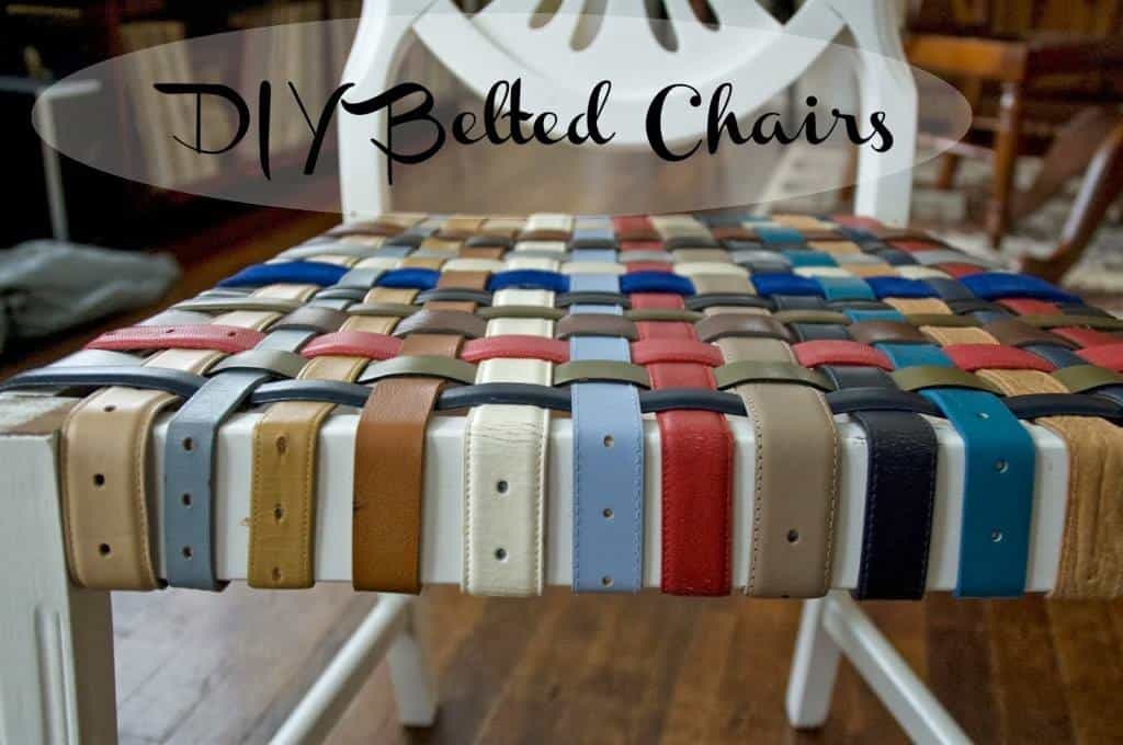Belted Chair Tutorial