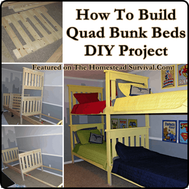 DIY Bunk Bed Wall