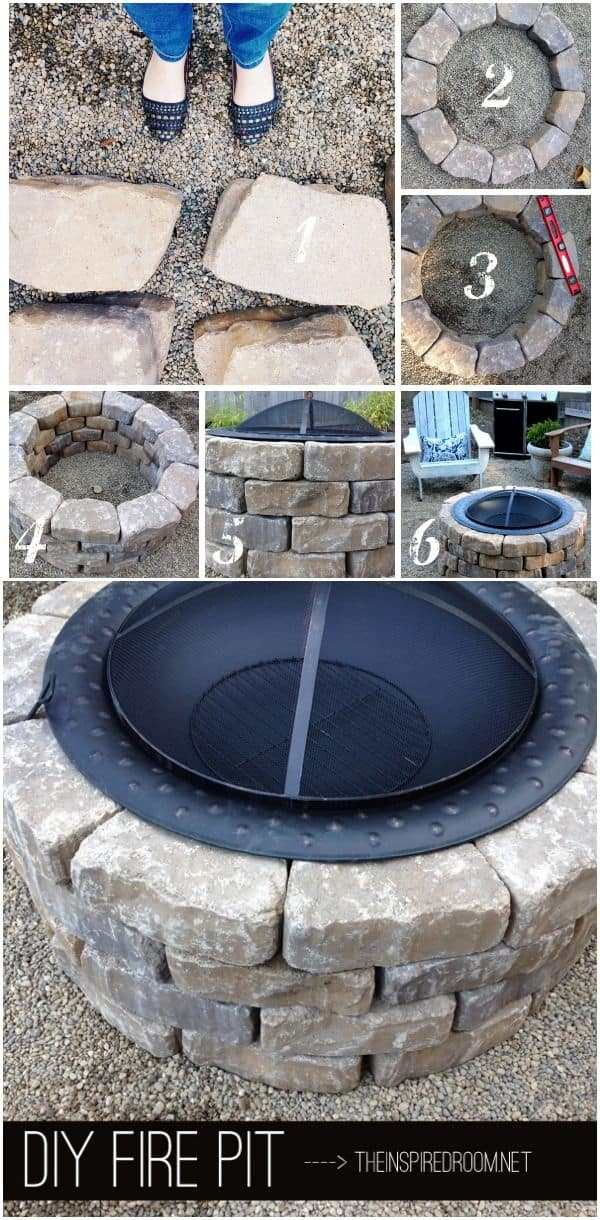 Fun And Easy Backyard Fire Pit