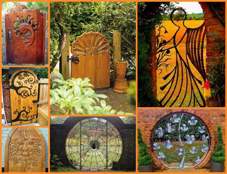 Unique Garden Gates (Photo Gallery)