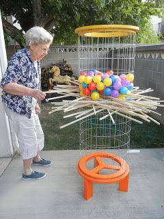 DIY Shishkaball Ball-Drop Game