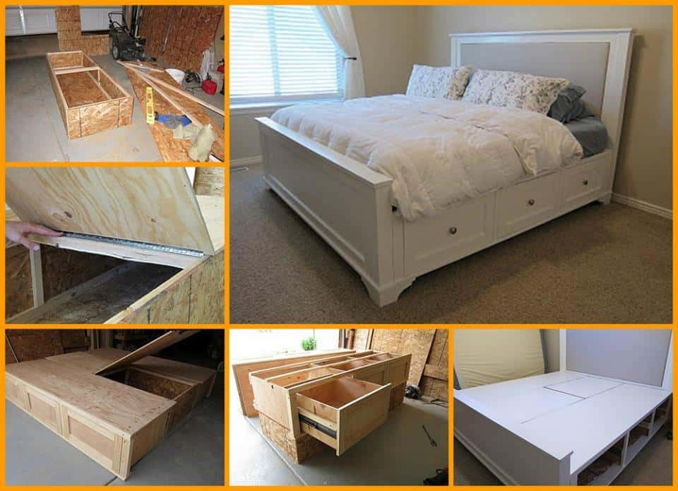 King Sized Bed Frame Tutorial