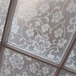 Cornflower Lace Window Treatment