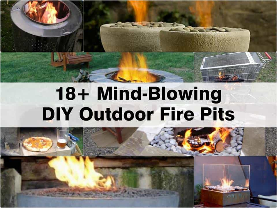 18 Terrific Outdoor Fire Pits