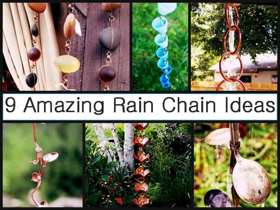 9 DIY Rain Chain Ideas