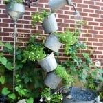 Tipsy Watering Can Fountain