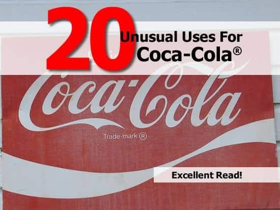 20 Creative Coca-Cola Uses
