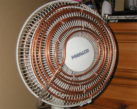 DIY Air Conditioner Fan